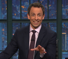 Seth Myers Has A Message For The Bernie Or Bust Crowd