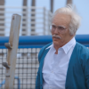 Former Olympic Body Builder Dresses Like An Old Man And Schools Dudes At Muscle Beach