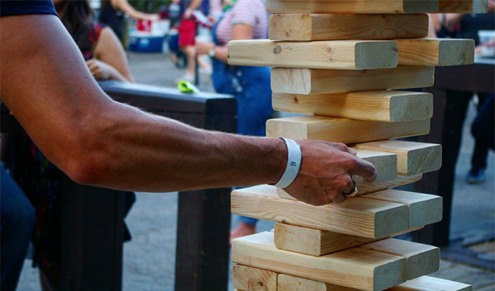 Post Grad Problems | Stop Playing Giant Jenga At Bars