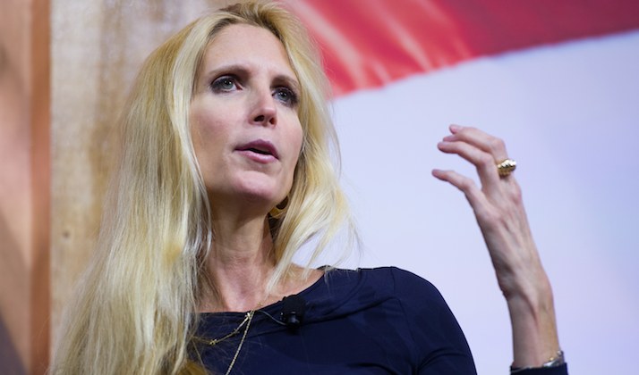 Breaking Down Ann Coulter's Idea To Run Immigration Like Tinder