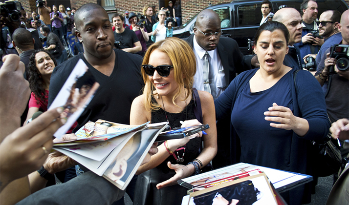 Five People That Had A Worse Weekend Than You: Lindsay Lohan
