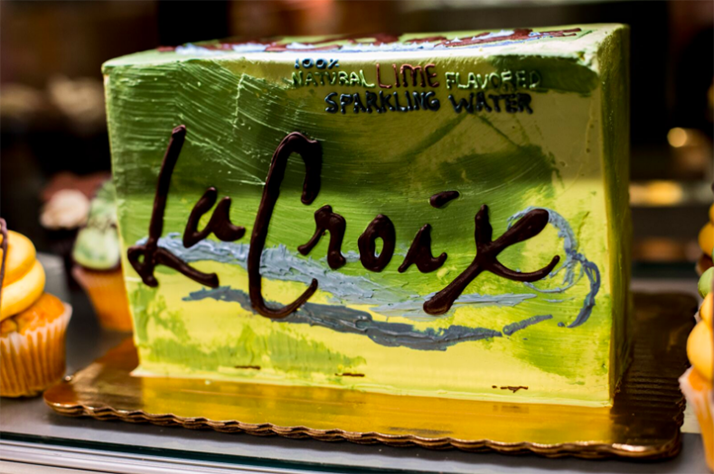 The LaCroix Cake At The Williamsburg Whole Foods Proves Hipsters Can Be Basic Too