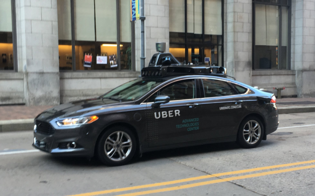 Oh, God, Self-Driving Ubers Are Here