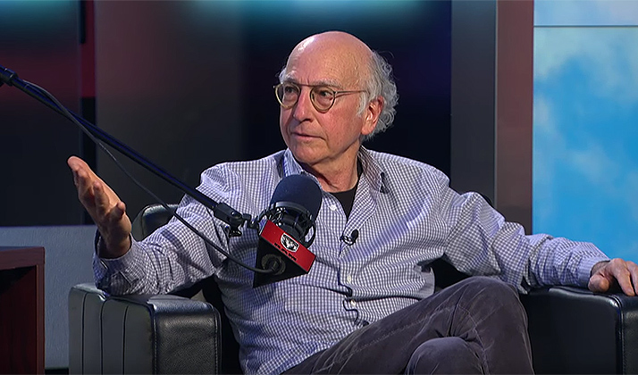 Watch Larry David Explain Why He Should Be Offensive Coordinator For The New York Jets