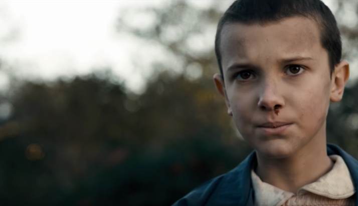 Watch Eleven From 'Stranger Things' Get Her Head Shaved