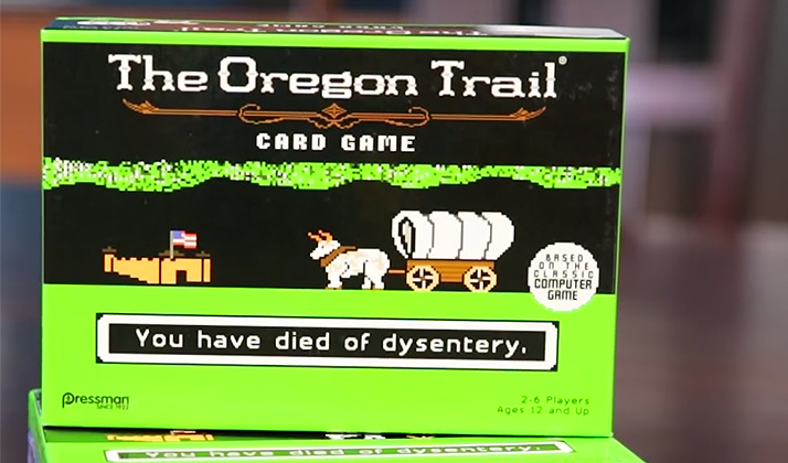 Start Flocking To Your Favorite Hipster Bar, Because The Oregon Trail Board Game Is Officially Here