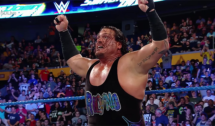 "WWE Wrestler ""Rhyno"" Somehow Just Won A Republican Primary In Michigan"