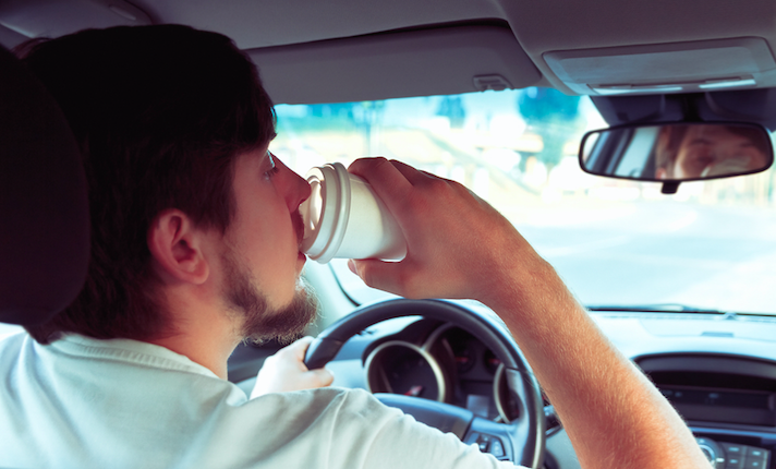 What If New Jersey Really Bans Drivers From Drinking Coffee?