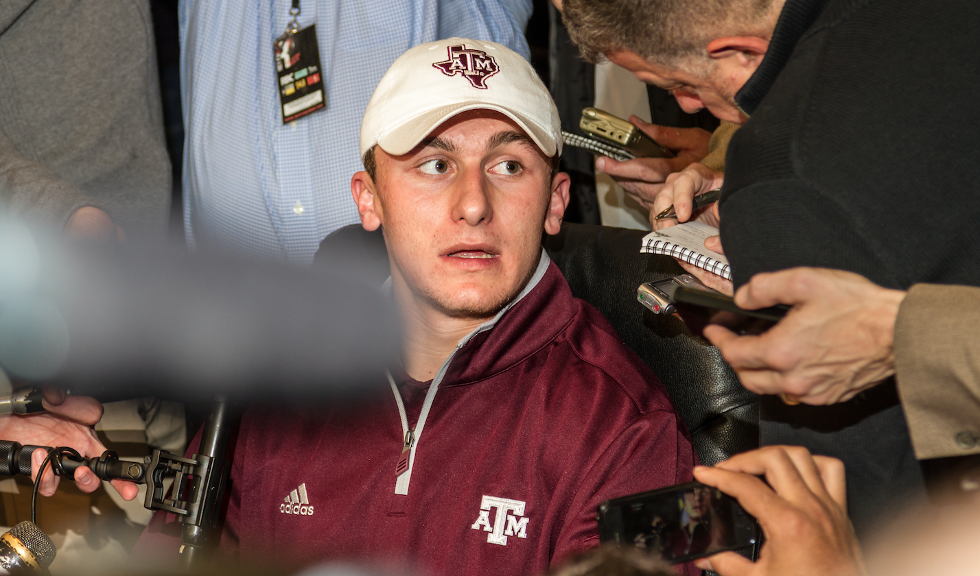 Johnny Manziel Is Going Back To School Kinda