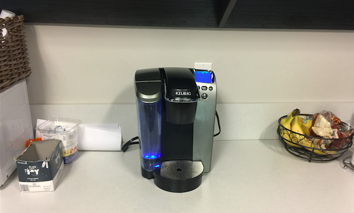 Whose Job Is It To Refill The Keurig Water Tank?