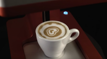 This Machine Will Draw Your Stupid Face In Your Coffee For You