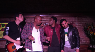 Dave Chappelle, Chris Rock, Aziz Ansari, And John Mayer Performing In NYC Looks Like The Most Fun
