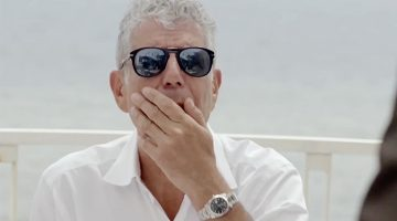 This Anthony Bourdain Cheese Compilation Is Downright Sexual