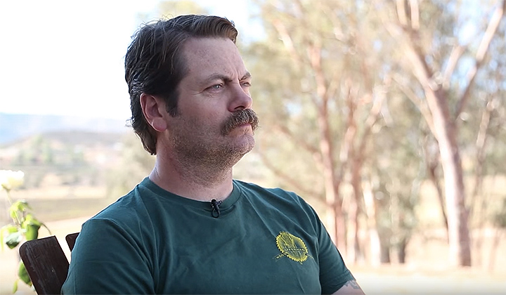 The Five Manliest Quotes From Nick Offerman's Esquire Interview