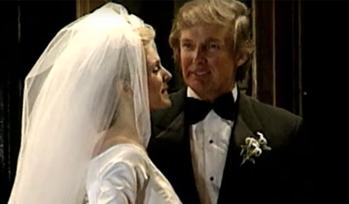 Donald Trump's Wedding Registry Had Some Absurdly Expensive Stuff On It