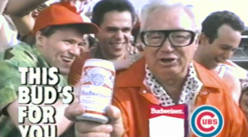 Budweiser Paid Tribute To Legendary Cubs Announcer Harry Caray With This World Series Champions Commercial