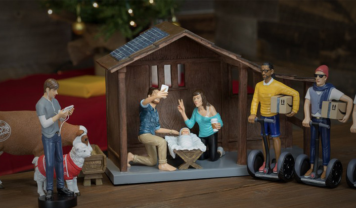 This 'Hipser Nativity Set' Is Reserved For Assholes Only