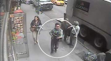 How About This Dude Stealing $1.6 Million Worth Of Gold Off An Armored Truck In Broad Daylight?