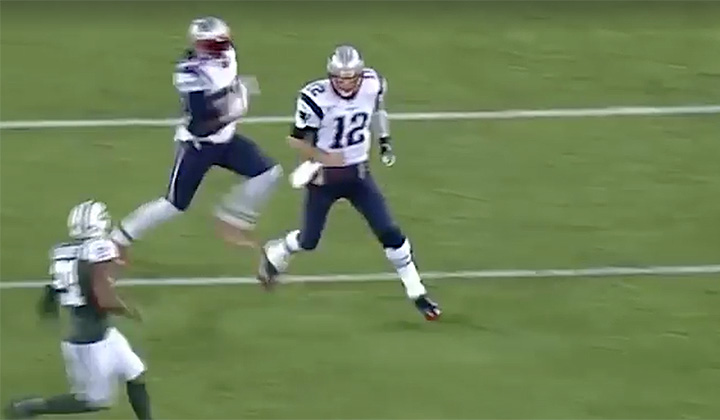Tom Brady Posts Hilarious Tribute Video Of His Missed Blocks Against The Jets Comparing Himself To A Monster Truck
