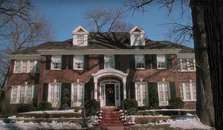 Apparently The 'Home Alone' House Is The Same House Monica And Chandler Bought In 'Friends'