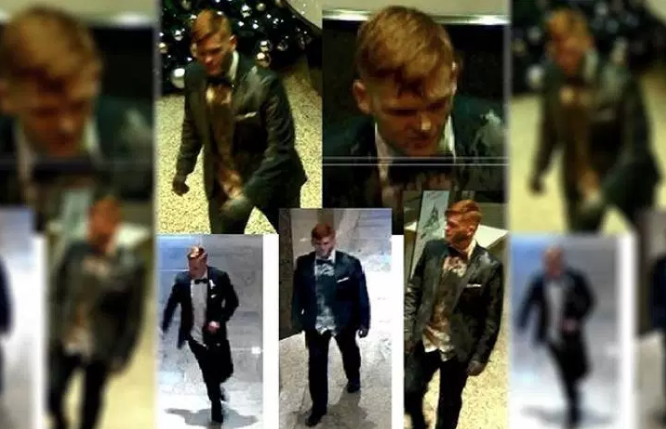 Paint-Covered Tuxedoed Madman Wanted By Toronto Police For Allegedly Trashing Downtown Office
