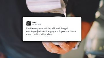 Brooklyn Guy Live Tweets The Blossoming Love Between Barista And Customer That Unfolds Right In Front Of Him