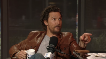 So Here's McConaughey Looking Badass Saying He's Open To 'True Detective' Season 3