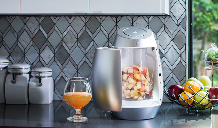 This Techy Cider Home Brew Machine Is The Epitome of Millennial Kitchen Gadget Douchebaggery