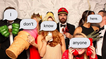 What To Do At A Wedding Where You Know Absolutely No One