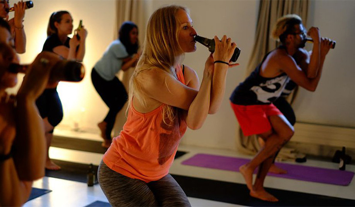 Beer Yoga Is The Newest Workout Trend We Can All Get Behind