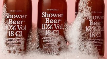 Official Shower Beer Is Actually A Thing So Get Ready To Up Your Pregame Skills