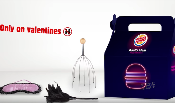 Burger King IS Dipping Their Toes Into The Sex Toy Game In Israel