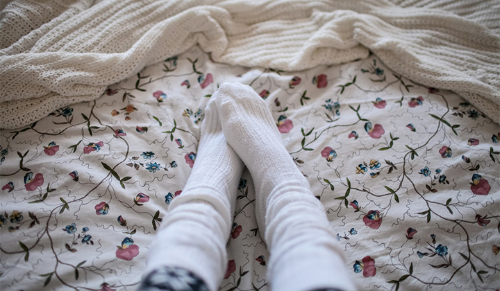 Wait, Since When Did It Become Acceptable To Wear Socks To Bed?