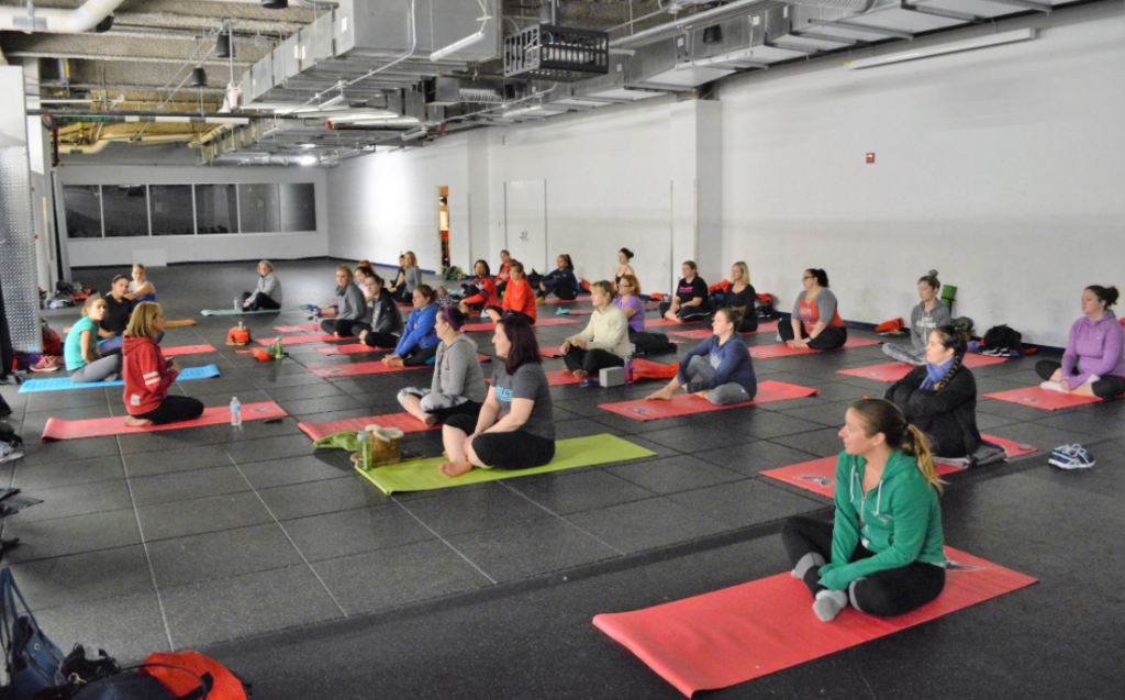 The Washington Capitals Are Offering Free Yoga For Fans Suffering From Playoff Anxiety