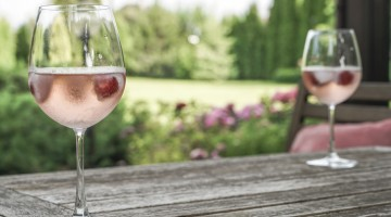How Can You Make Your Brunch Game Stand Out On Instagram? A Rosé Garden, Obviously