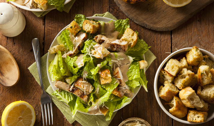 The Caesar Salad Is Class In A Bowl
